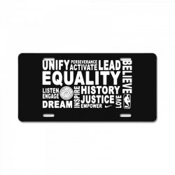 equality License Plate | Artistshot