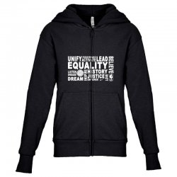 equality Youth Zipper Hoodie | Artistshot