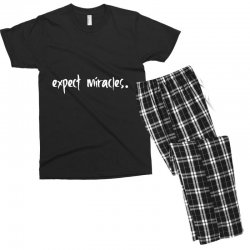 expect it Men's T-shirt Pajama Set | Artistshot