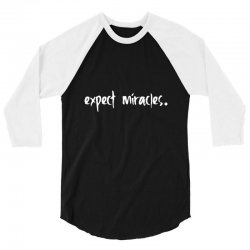 expect it 3/4 Sleeve Shirt | Artistshot