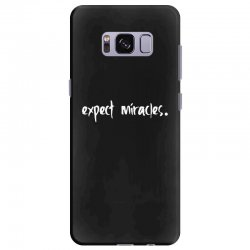 expect it Samsung Galaxy S8 Plus Case | Artistshot