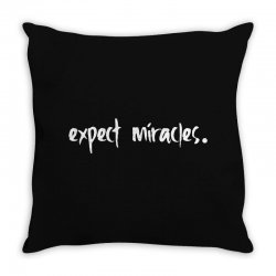 expect it Throw Pillow | Artistshot