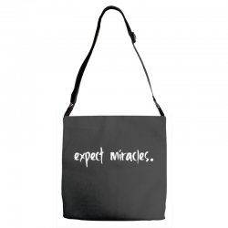 expect it Adjustable Strap Totes | Artistshot