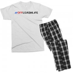#offleashlife Men's T-shirt Pajama Set | Artistshot
