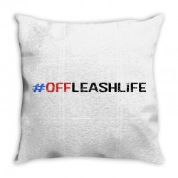 #offleashlife Throw Pillow | Artistshot