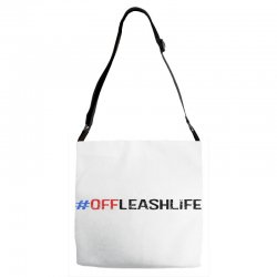#offleashlife Adjustable Strap Totes | Artistshot