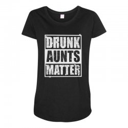drunk green Maternity Scoop Neck T-shirt | Artistshot