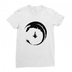dragon Ladies Fitted T-Shirt | Artistshot