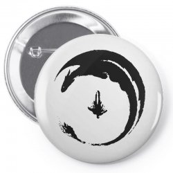 dragon Pin-back button | Artistshot
