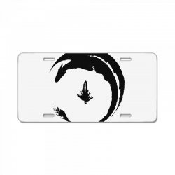 dragon License Plate | Artistshot