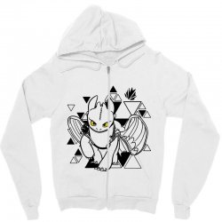 cute dragon Zipper Hoodie | Artistshot
