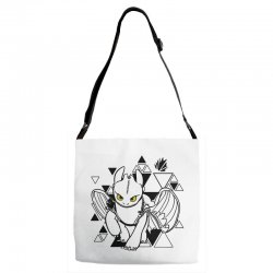 cute dragon Adjustable Strap Totes | Artistshot