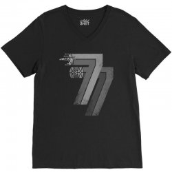 77 galaxy was changed V-Neck Tee | Artistshot