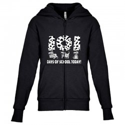 cute dog Youth Zipper Hoodie | Artistshot