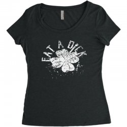 cute clover Women's Triblend Scoop T-shirt | Artistshot