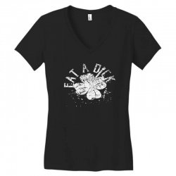 cute clover Women's V-Neck T-Shirt | Artistshot