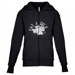 cute clover Youth Zipper Hoodie | Artistshot