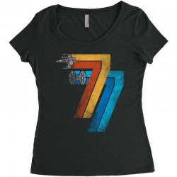 1977 galaxy was changed Women's Triblend Scoop T-shirt | Artistshot