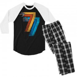1977 galaxy was changed Men's 3/4 Sleeve Pajama Set | Artistshot