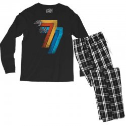 1977 galaxy was changed Men's Long Sleeve Pajama Set | Artistshot