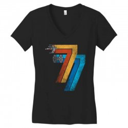 1977 galaxy was changed Women's V-Neck T-Shirt | Artistshot