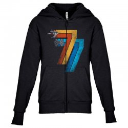 1977 galaxy was changed Youth Zipper Hoodie | Artistshot