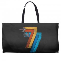 1977 galaxy was changed Weekender Totes | Artistshot