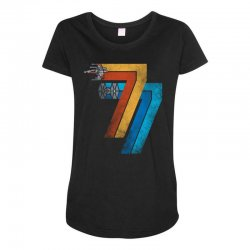 1977 galaxy was changed Maternity Scoop Neck T-shirt | Artistshot