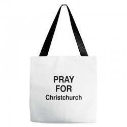 pray for christchurch (black) Tote Bags | Artistshot