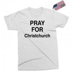pray for christchurch (black) Exclusive T-shirt | Artistshot