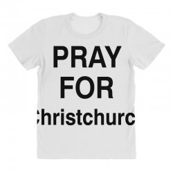 pray for christchurch (black) All Over Women's T-shirt | Artistshot