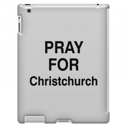 pray for christchurch (black) iPad 3 and 4 Case | Artistshot