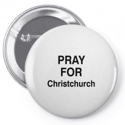 pray for christchurch (black) Pin-back button | Artistshot