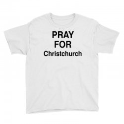 pray for christchurch (black) Youth Tee | Artistshot