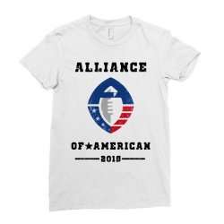 2019 alliance of american Ladies Fitted T-Shirt | Artistshot
