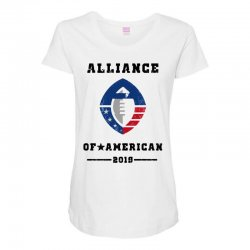 2019 alliance of american Maternity Scoop Neck T-shirt | Artistshot
