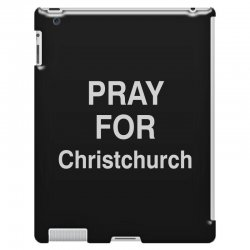 pray for christchurch iPad 3 and 4 Case | Artistshot