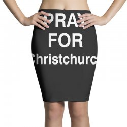 pray for christchurch Pencil Skirts | Artistshot