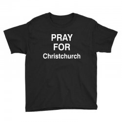 pray for christchurch Youth Tee | Artistshot