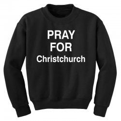 pray for christchurch Youth Sweatshirt | Artistshot