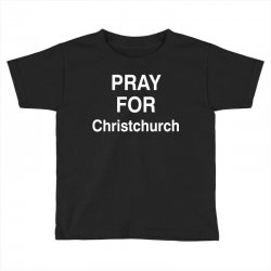 pray for christchurch Toddler T-shirt | Artistshot
