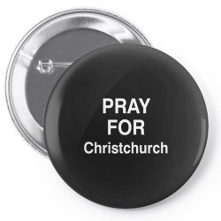 pray for christchurch Pin-back button | Artistshot