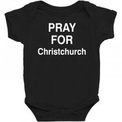 pray for christchurch Baby Bodysuit | Artistshot