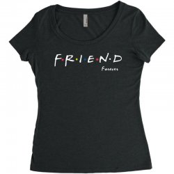 a friend forever Women's Triblend Scoop T-shirt | Artistshot