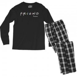 a friend forever Men's Long Sleeve Pajama Set | Artistshot