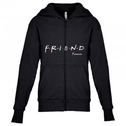 a friend forever Youth Zipper Hoodie | Artistshot