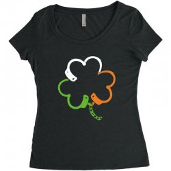 clover Women's Triblend Scoop T-shirt | Artistshot