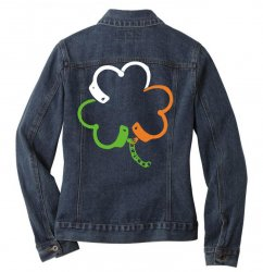 clover Ladies Denim Jacket | Artistshot