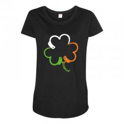 clover Maternity Scoop Neck T-shirt | Artistshot