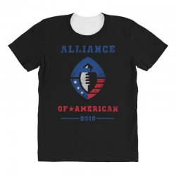 alliance of american 2019 All Over Women's T-shirt | Artistshot